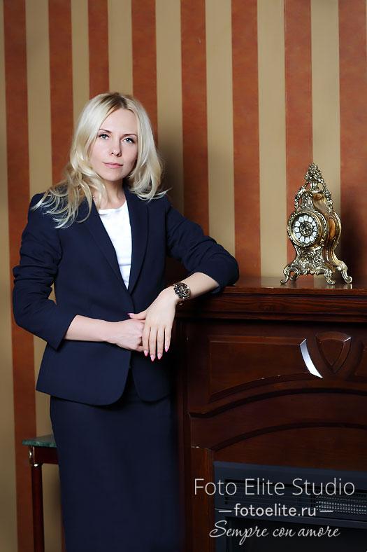 деловой портрет женщины