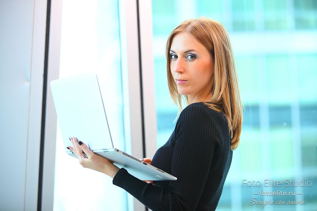 деловой портрет фотосессия в москва сити