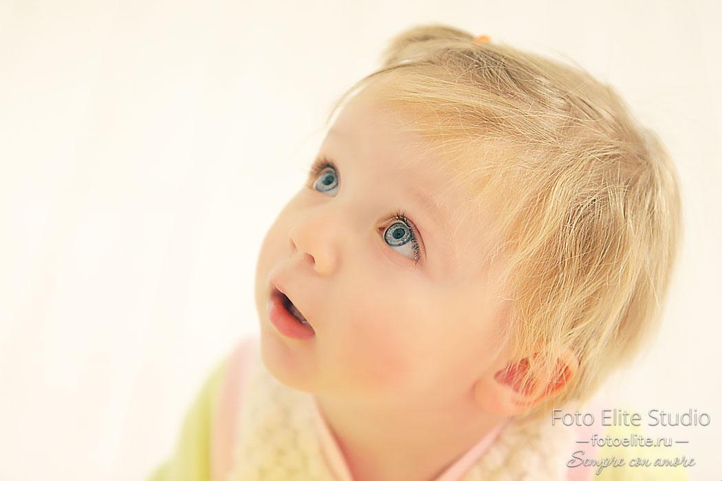 детские фотосессии с маленькими детьми