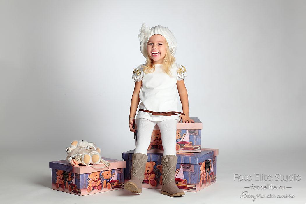 детская фотосъемка в студии фото